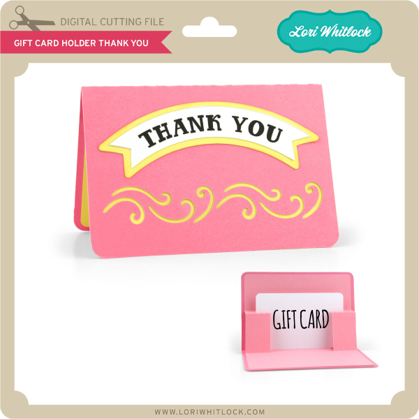 Lw Gift Card Holder Thank You