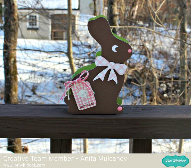 3D Chocolate Bunny Box Tutorial with Anita
