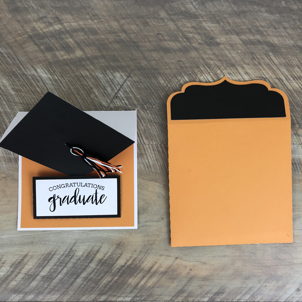 Graduation Gift Card Holder Assembly Tutorial