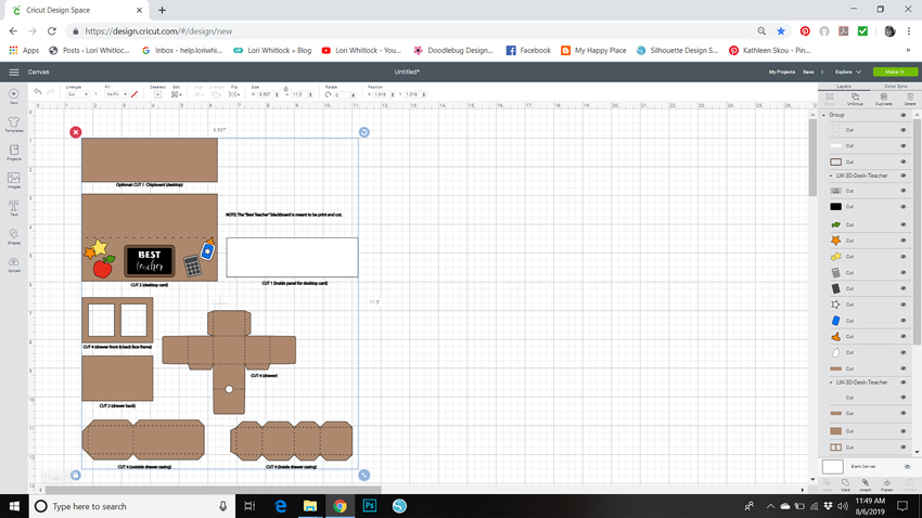 Resizing SVG Files in Cricut Design Space – Lori Whitlock